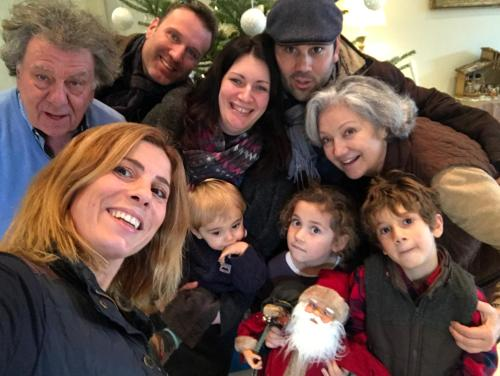 3 generation of Bastide d'Izard family
