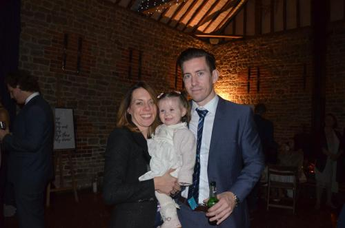 Hannah, Andy & our daughter Chloe