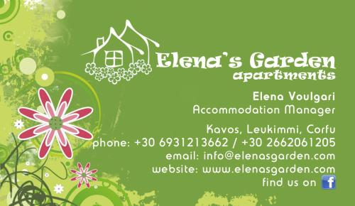 Elena 's Garden official card