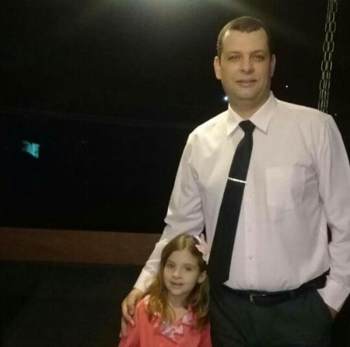 Leandro e Larissa filha