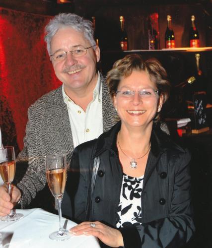 Herr und Frau Harsdorf, Eigentumer und Vermieter
