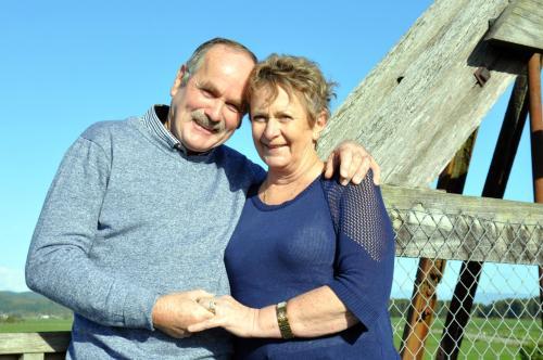 Sharyn and Butch