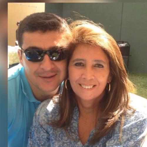 con mi esposo