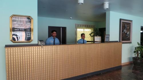 Receptionist - Marlon and Kamran