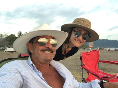 Glenn Schecher and daughter, Gabriella