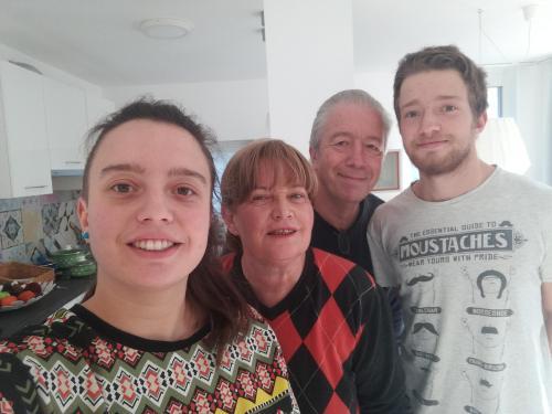 Iva, Gabi, Alan and Urban Sodnik