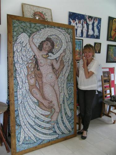Icon & Mosaic artist Mary