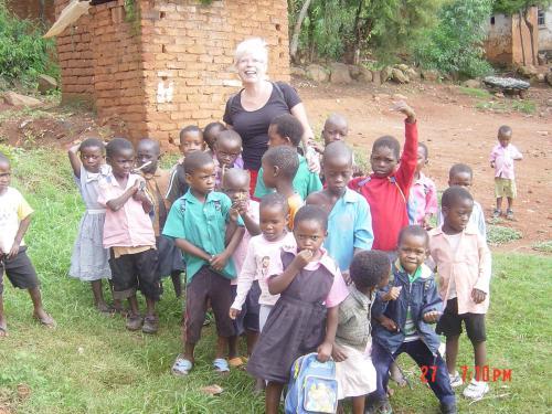 Vrijwilliger in Malawi jan febr 2011.