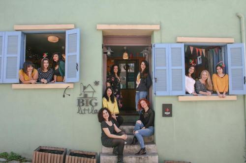 Little Big House team - Vicky, Athina, Sophia, Marina, Despoina, Kika, Anna, Georgia, Marianna, Konstantia, Anna .