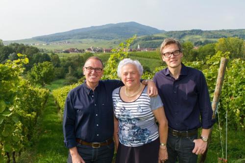 Michel, Marie-Reine et Remy Kieffer