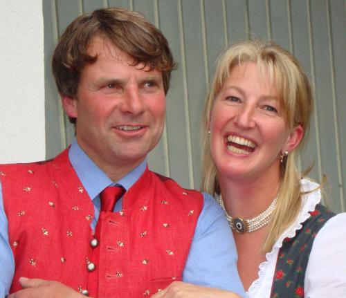 Peter und Katharina Pichler - Steiner mit Peter jun., Sophie und Stefan