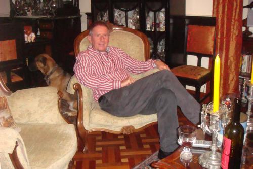 My dog Tassen and me, Johnny Bjelkaroy