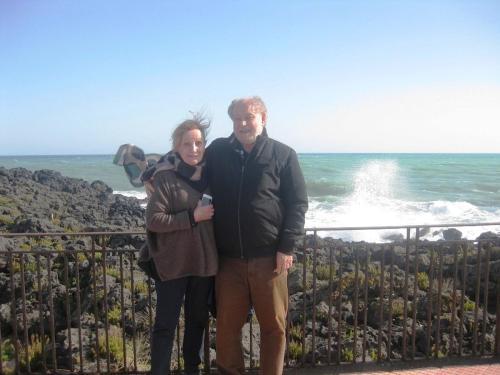 Marie-José et Claude Simon
