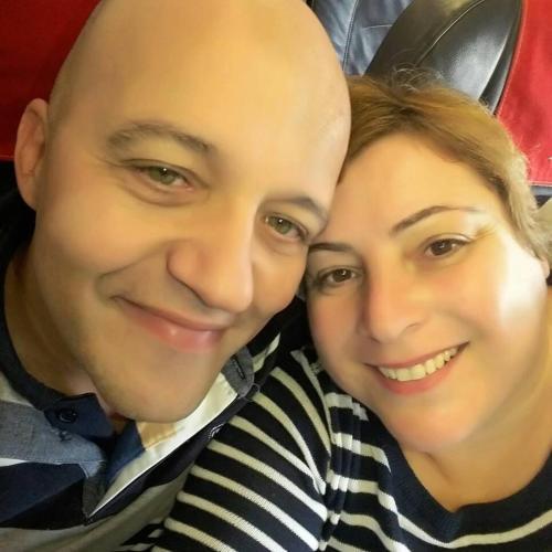 Marco Steri e Daniela Barroi
