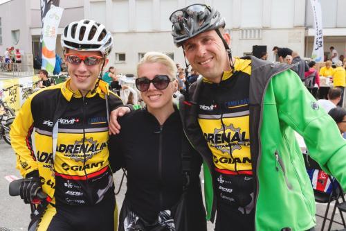Loris , Mihaela and Anthony