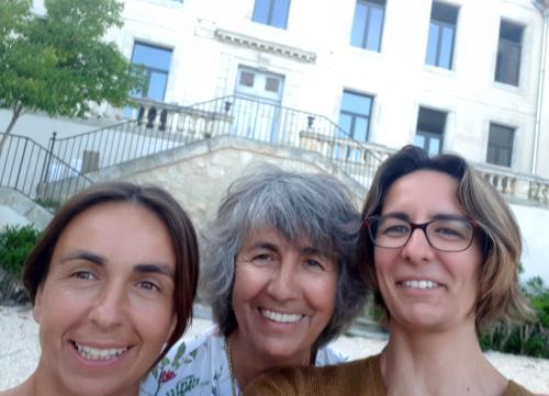 Aurélia, Nicole et Stéphanie