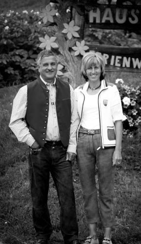 Ihre Gastgeberfamilie Irene und Mathias Salcher