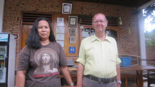 Owners. Hotmian Siallagan & Berend Bakker