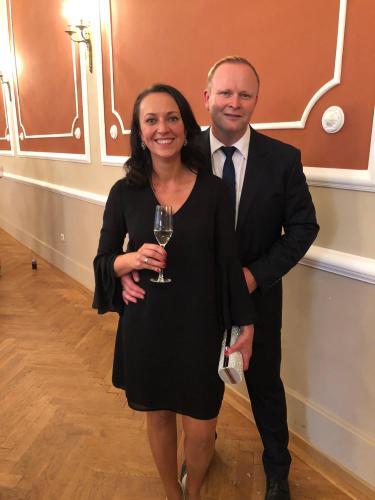 Swetlana und Heiko Vollertsen