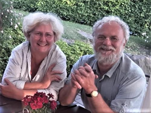 Ihre Vermieter Birgit und Wolfram Ehnert