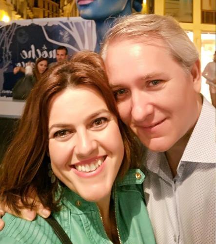 Silvia y Antonio