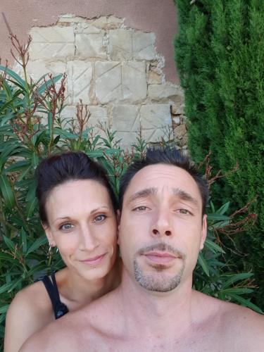 Benjamin et Christelle