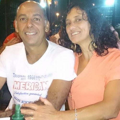 Marco dos Santos e Eliana Sanchez dos Santos