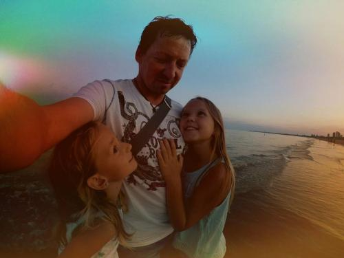 Mike, Emely und Milena