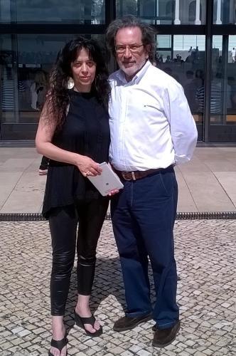 Pedro Amado e Paula Amado