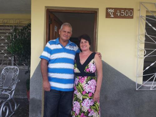 Luis Enrique y Mercy