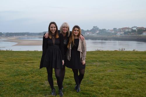 Amandine, Isabelle, Maud