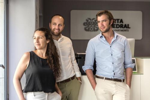 Pilar, Alejandro y Carlos