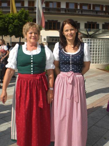 Karin mit ihrer Mutter Rosi