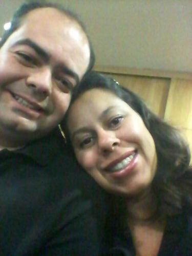 Marcelo e Diana Santos