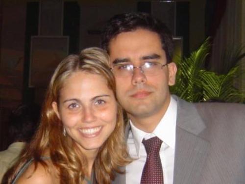 Guilherme Collin e Gisele Fracaro