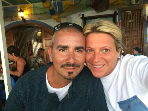 Io e mio marito Andrea