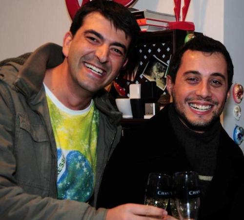 Pedro e Leandro