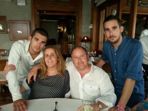 Mariona, Marti,Arnau i Didac, la familia