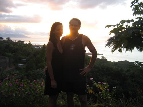 Tonia y René Pakarati